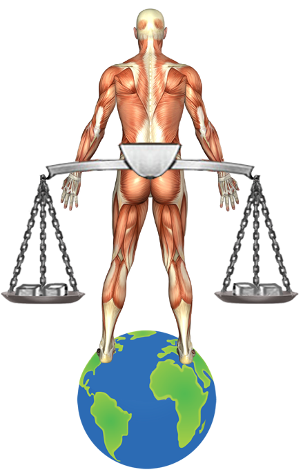 balanced-man-on-earth-